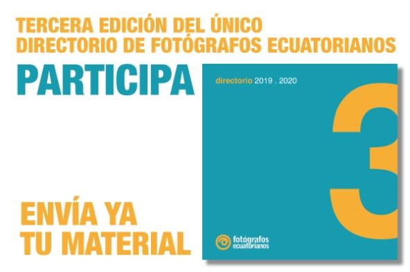 Directorio de Fotógrafos Ecuatorianos #3